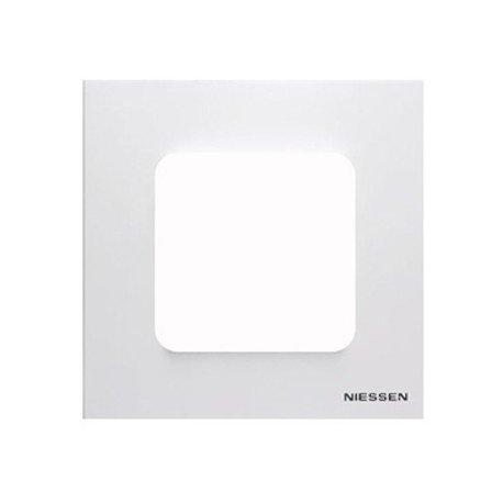 Niessen Zenit N2271BL - Marco Estandar, Blanco, 1 unidad