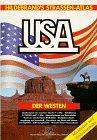 Hildebrand's Straßen- Atlas USA . Der Westen. Mit Mexico und Zentralamerika -