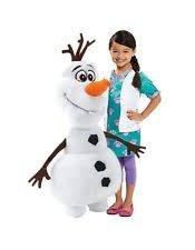 DISNEY fROZEN lA eISKÖNIGN dISNEY oLAF pELUCHE bONHOMME dE nEIGE gÉANT xXXL 1 m dE hAUTEUR pELUCHE de Disney Frozen