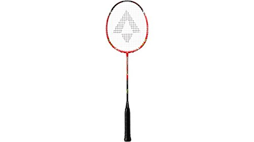 Tecnopro Speed Flyte 3 Badminton-Schläger, Schw/Orange/Grün, One Size