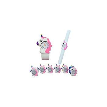 2 Pieces Unicorn Bracelet Party Bag Fillers Christmas Gift White Band For Kid