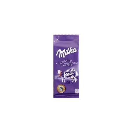 Milka Tableta De Chocolate Leche