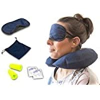 Travel Pillow, cuscino da viaggio gonfiabile Cuscino da collo, di