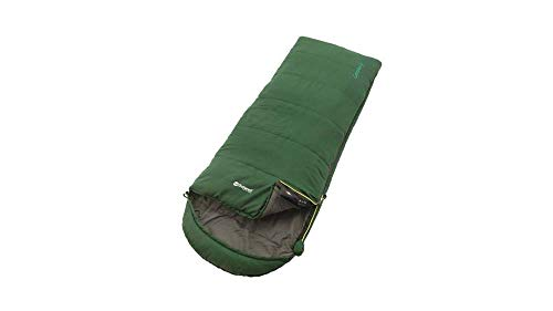 Outwell Kinder Campion Schlafsack, Green, 170 x 65 cm