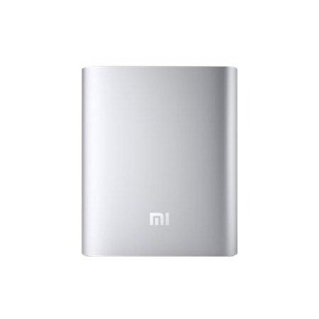 Xiaomi Powerbank Batería Externa MI de 10400mAh ORIGINAL para iPhone, Smartphones, Tabletas y PC - Plateado