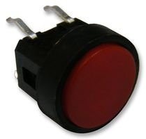 SWITCH, PUSH BUTTON, ROUND, SPST, RED TS0B23 By Best Price Square -