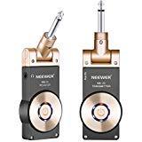 Neewer 2,4GHZ Transmetteur et Récepteur Sans Fil Rechargeable de Guitare,...