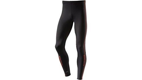 Pro Touch pantaloni da corsa uomo pantaloni sportivi Nero Randall UX 222944-050 - schwarz / rotorange