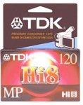 TDK MP120hi-8Video Kassetten (Auslaufmodell)