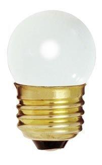 Bulbrite 702007 - 7.5S11W - weiß 7.5 Watt S11 Glühbirne, 130 Volt Lange Lebenszeit