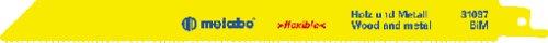 Preisvergleich Produktbild Metabo 2 Säbelsägeblätter BiM 225 x 0,9/1,8-2,6, 631097000