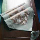 Preisvergleich Produktbild XXFFH Tischläufer Wallpapers Tischdecke Platzdeckchen High-End-Seide Jacquard Brokat Quasten Magpie Scharfe Tischläufer , A , 40*225