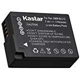 kastar Battery for panasonic dmw-blc12 Leica bp-dc12 Sigma bp-51 and lumix dmc-fz200 dmc-fz300 dmc-fz1000 fz2000 fz2500 dmc-g5 dmc-g6 dmc-g7 dmc-gx8 dmc-g85 dmc-gh2 Sigma dp1 dp2 dp3 Leica v-lux 4