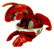 Bakugan Battle Brawlers Loose Red Chrome Evolved Dragonoid (Random G Power)