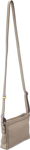 GERRY WEBER Color Blocking Shoulder Bag 4080002085, Damen Schultertaschen 22x15x5 cm (B x H x T) Taupe (taupe 104)