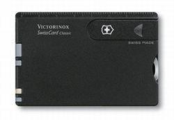 Victorinox Taschenwerkzeug SwissCard Brieföffner Gehäuse schwarz, Standard