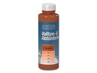 Voll- und Abtönfarbe Terracotta 500 ml