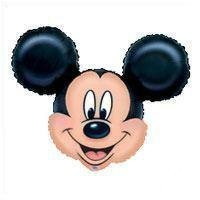 Disney Mickey Mouse SuperShape globo de la hoja