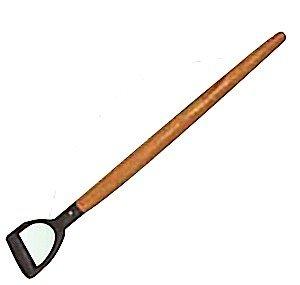 Am-Tech D-Handled Wooden Shaft, U1900