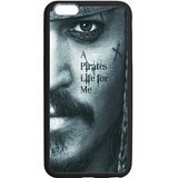 Sparrow Piraten der Karibik Custom Fall Shell Cover für iPhone 6/6S Plus TPU (Laser-Technologie) ()