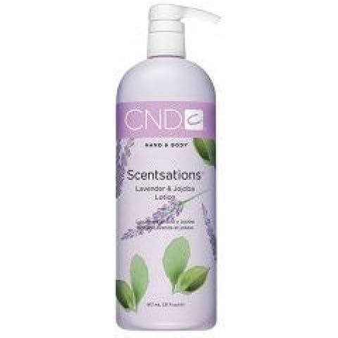 CND: Scentsations lavanda y Jojoba Scentsations Loción, 31oz por Creative Nail Designs
