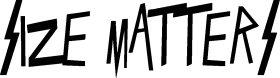 Mister Merchandise Tasche Size Matters Stofftasche , Farbe: Schwarz Natur