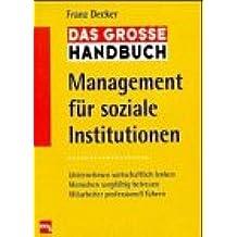 Das große Handbuch Management für soziale Institutionen