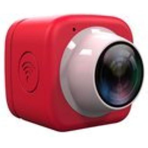 OKCSC WiFi Selfie fotocamera Mini DV registratore auto DVR HD 720P 120gradi obiettivo grandangolare con controllo wireless wifi integrato, App Mobile