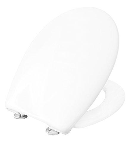 Cornat WC-Sitz PREMIUM 1 weiß / Toilettensitz / Toilettendeckel / Klodeckel / WC-Deckel / Absenkautomatik / Duroplast / KSPREMSC100