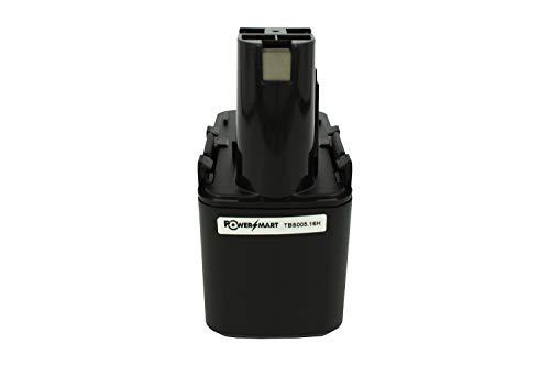 PowerSmart® 1700mAh 12V NiMH Akku für Bosch GSB 12 VSE-2, GSB 12 VSP-3, GSB 12VSP-2, PSR 120, PSR 12VES-2, GSR 12 VE-2, GSR 12V, 2 607 335 081, 2 607 335 090, 2 607 335 107, 2 607 335 108