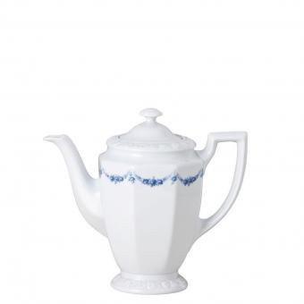 Rosenthal Maria Rosenkante blau Kaffeekanne 6 P. 14030