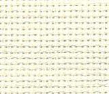 Creme Aida – 100% Baumwolle Kreuzstich Stoff – 70x50 cm