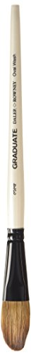 Daler-Rowney Graduate Acrylic/Oil Brush (Natural/Synthetic Mix) Oval Wash - 3/4""