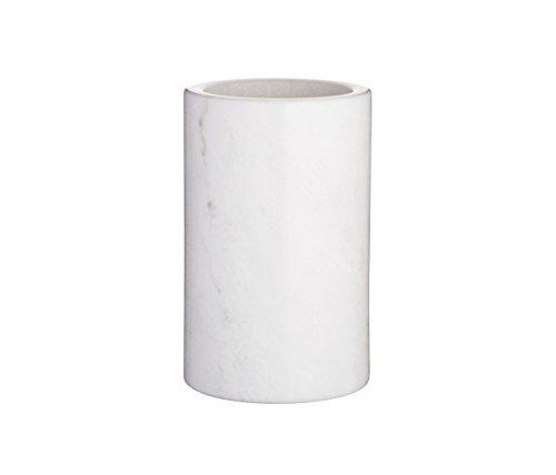 Kitchen Craft artesà ARTWCOOL Marmor Weinkühler, 12 x 12 x 19 cm, Weiß