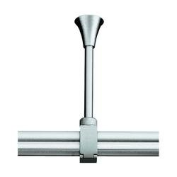 Slv - Sujección techo 10cm flexible para easytec-ii gris plata