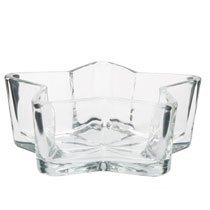 - Star-Shaped Glass Bowls, 6 by DT
