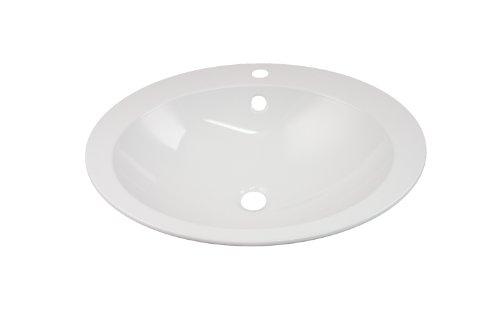 Alape Einbaubecken weiß EB.0600H oval 2104000000