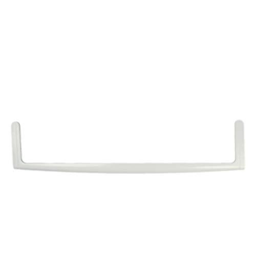 ORIGINAL Küppersbusch 430985 Zierleiste Glasplattenleiste Rahmen Schiene Halterung Schutz vorne Kühlschrank Gefrierschrank Kühl-Gefrier-Kombination u.a. passende Platte 430987 Leiste hinten 430986