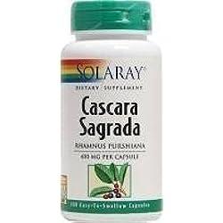 Solaray Cascara Sagrada 60 Kapseln - CLF-SR-1058