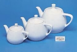 Teekanne 3, Friesland, 0,85l, weiß