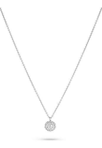JETTE Silver Damen-Kette 925er Silber 63 Zirkonia One Size 86992647
