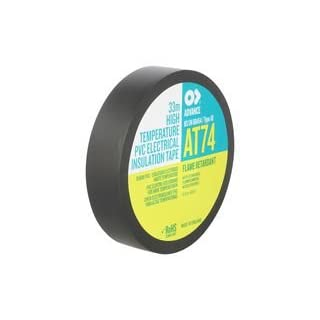 AT74 HIGH TEMP PVC TAPE AT74 19MM By ADVANCE TAPES
