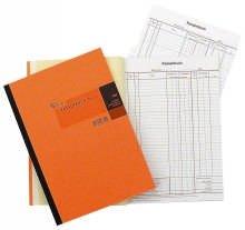 König & Ebhardt 8626532 Geschäftsbuch / Kassenbuch (A4, zum Durchschreiben 2 x 50 Blatt Klebebindung)