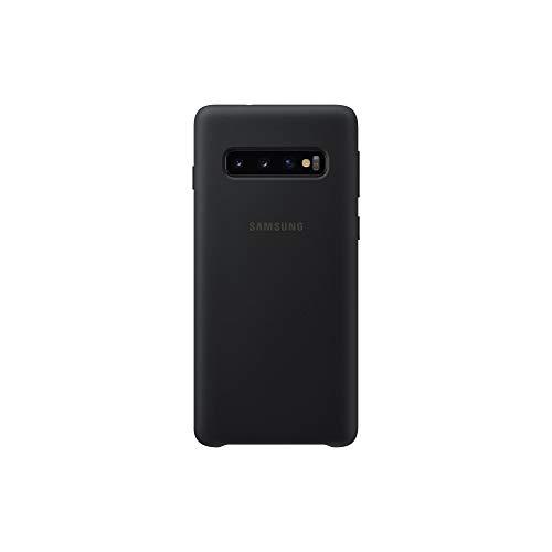 Samsung EF-PG973TBEGWW Custodia in Silicone per S10, Nero