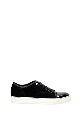 Sneakers Lanvin Uomo Camoscio Nero FMSKDBB1VBALP1510 Nero 40EU