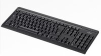 Fujitsu S26381-K515-L420 Tastatur (Deutsch, PS/2, LED) schwarz (Amazon Basics Tastatur Ps2)