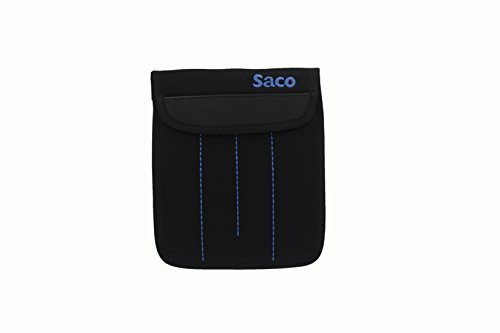 Saco Shockproof External Non Neoprene Protective Storage Carrying Sleeve Case Pouch