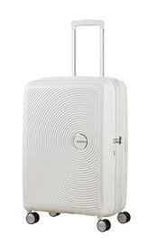 AMERICAN TOURISTER Soundbox Spinner 77/28 Expandable Koffer, 77 cm, 97 L, Pure White
