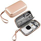 Hard Aufbewahrung mit Travel Case Tasche für HP Ritzel Portable Photo Drucker, Polaroid Zip Mobile Drucker, Polaroid Snap Kamera - HVS, Rose Gold Mobile Travel Kit