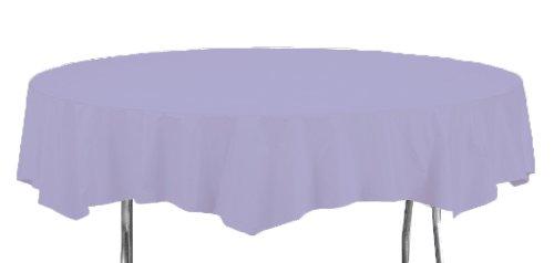 Runde Papier Tischdecke Lavendel